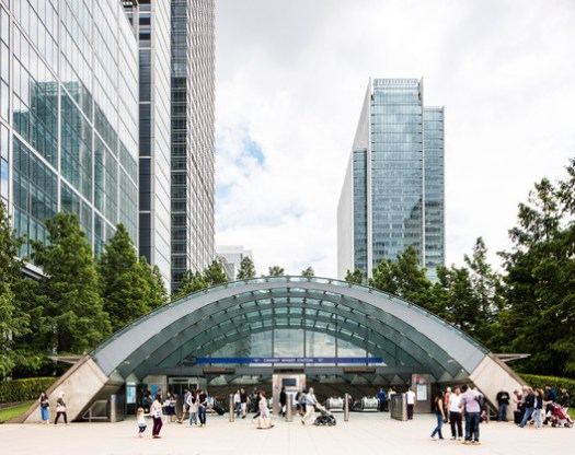 Canary Wharf by Norman Foster. Image © Will Scott for Blue Crow Media