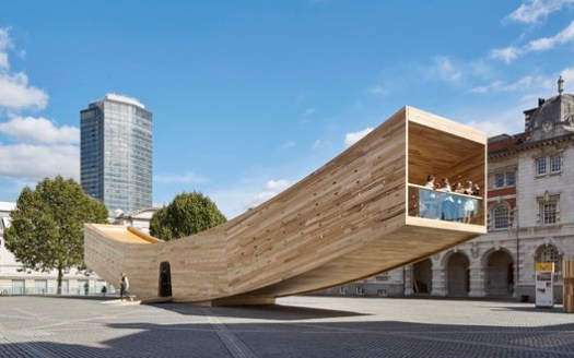 Alison Brooks Architects, The Smile. Image Courtesy of World Architecture Festival