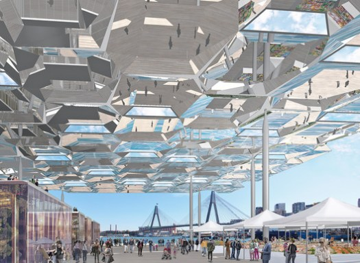 Future, Masterplanning Winner: Sydney Fish Markets; Sydney, Australia / Allen Jack + Cottier Architects. Image Courtesy of World Architecture Festival