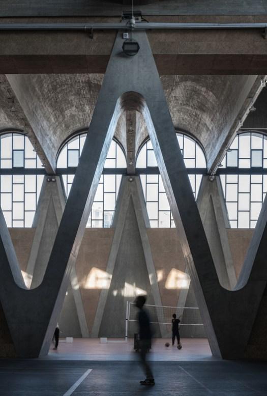 Y Shape Column. Image © Qianxi Zhang