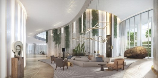 Lobby. Image Courtesy of OMA