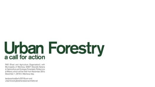 Urban Forestry: a call for action