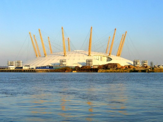 Millennium Dome / Richard Rogers (RSHP). Image <a href='https://www.flickr.com/photos/jamesjin/58712717/'>© James Jin via Flickr</a> License CC BY-SA 2.0