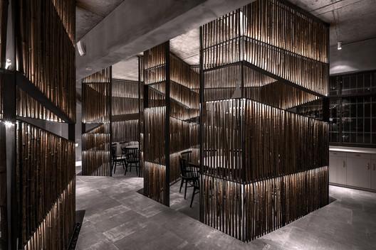 Bamboo corridor. Image © Quan Zhang