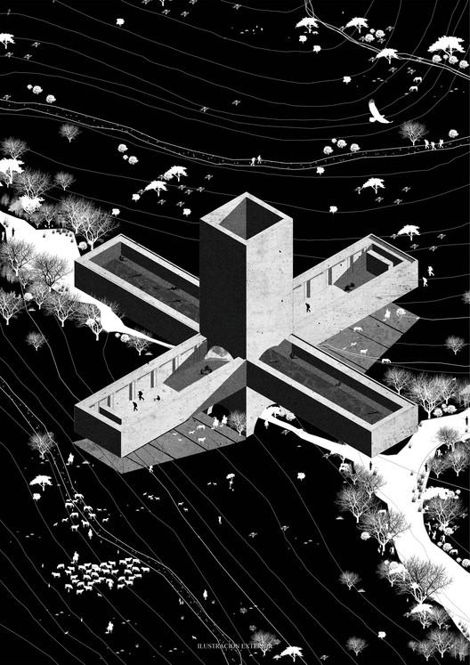 [E1] Universidad de las Américas. Image Courtesy of Facultad de Arquitectura USS