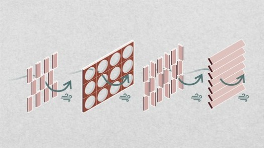 Ventilation by Brise Soleil Diagram. Image © Matheus Pereira