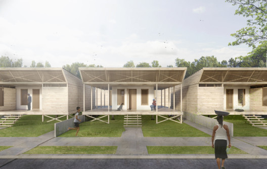 GIF_MODULO_1PISO Architects Propose 120 Incremental Social Houses for Iquitos, Peru Architecture