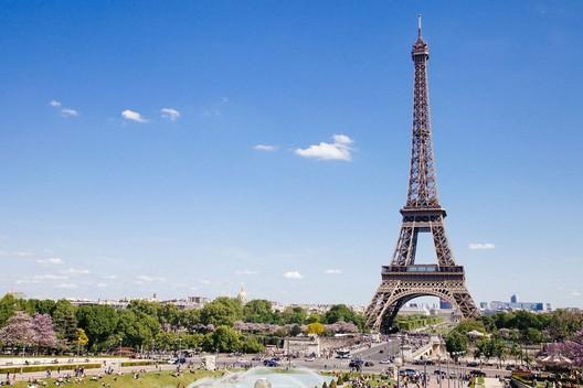The Eiffel Tower. Image © <a href='https://unsplash.com/photos/QAwciFlS1g4'>Unsplash user Anthony Delanoix</a>