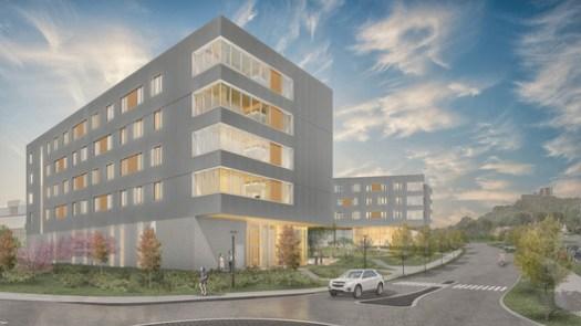 Courtesy of Leers Weinzapfel Associates, Modus Studio, Mackey Mitchell Architects