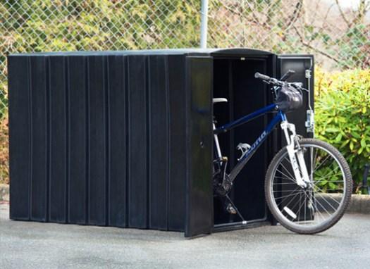 Bike Lockers   Reliance Foundry. Image Courtesy of Reliance Foundry