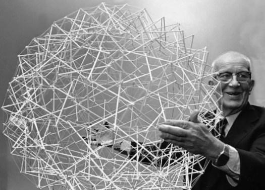Buckminster Fuller <a href='https://www.flickr.com/photos/poetarchitecture/26806590126/in/photolist-GQNMjo-hESW2z-GMT4BP-ejcfv3-criycW-r4RXrm-qixJV2-3ZnJR-3ZnKg-5mMEfE-5mHpSD-5mMEDd-VR9y-VR7Y-VR9e-VR7D-VR8M-8y9tDo-8y6sNX-qnhPRv-sSPR3B-ta1L5A-sSFpTo-t7XFvh-t7Xf6u-t7WDZd-t7W8aY-sSFCyf-t7WNX3-sdgce7-sSGbAS-sSEAJd-sSH5eG-t7WeNY-sdsw7p-sdrtJa-t7WvQs-ta2Hj3-taiBsF-tagNuP-sSPTcM-t7WCsq-ta1wys-sSNNhP-ta2Tpo-sSFMmJ-sSPk8M-sdrEH4-ta2Jc5-sSHcrN'>©POET ARCHITECTURE via Flickr </a> Licence Public Domain Mark 1.0
