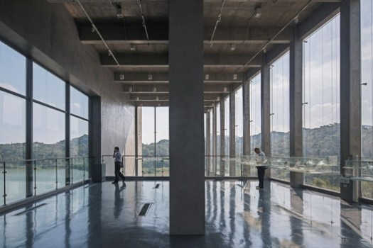 Main Shear Wall Structure with Open Landscape View. Image © Zhang Chao Studio