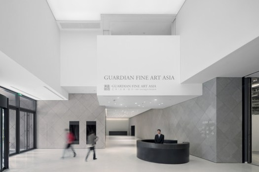 Ground Floor Lobby. Image © Iwan Baan