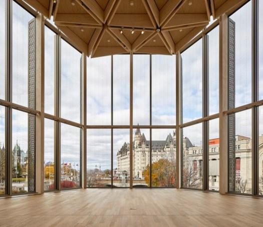 National Arts Centre Rejuvenation (Ottawa, Ontario) / Diamond Schmitt Architects. Image Courtesy of Wood Design & Building Awards