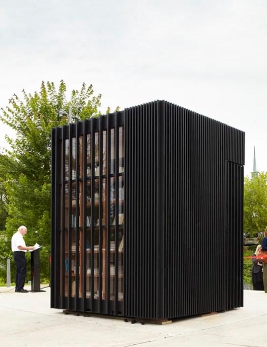Story Pod (Newmarket, Ontario) / Atelier Kastelic Buffey Inc.. Image Courtesy of Wood Design & Building Awards