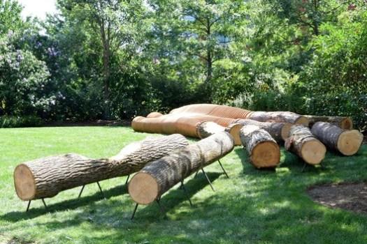 Ways of Wood (Boston, Massachusetts) / Margen-Lab. Image Courtesy of Wood Design & Building Awards
