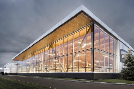 Tanguay Trois-Rivières (Trois-Rivières, Québec) / Coarchitecutre. Image Courtesy of Wood Design & Building Awards