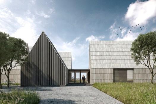Georgica Cove (East Hampton, New York) / Bates Masi + Architects. Image Courtesy of Wood Design & Building Awards