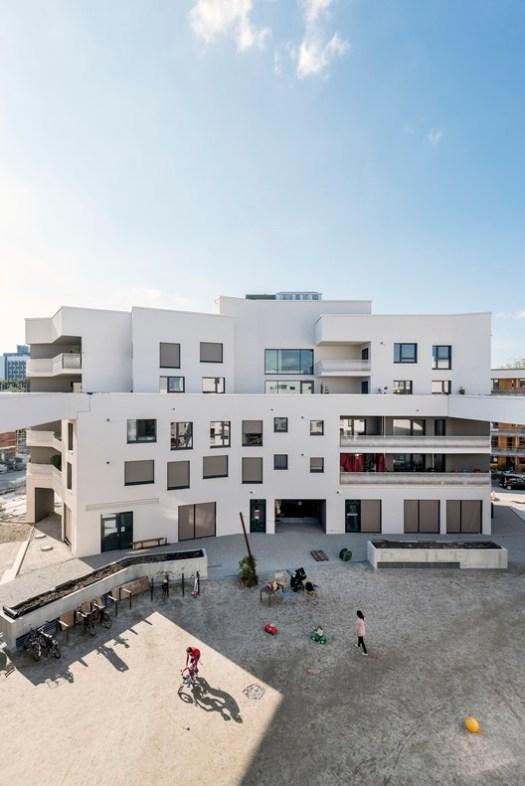 WINNER: wagnisART Residential Housing Project, Munich / bogevischs buero and SHAG Schindler Hable Architekten. Image © Julia Knop