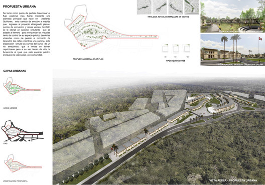 4_LAMINA_PROPUESTA_URBANA Architects Propose 120 Incremental Social Houses for Iquitos, Peru Architecture