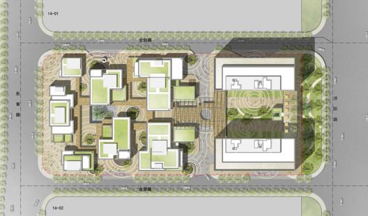 Masterplan The New Bund World Trade Center - Phase 1 / Benoy Architecture