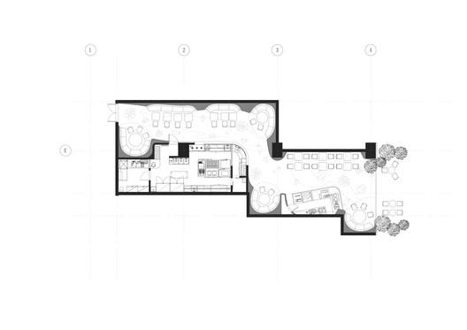 10_SODA_architects_PLAN BLUFISH restaurant / SODA architects Architecture