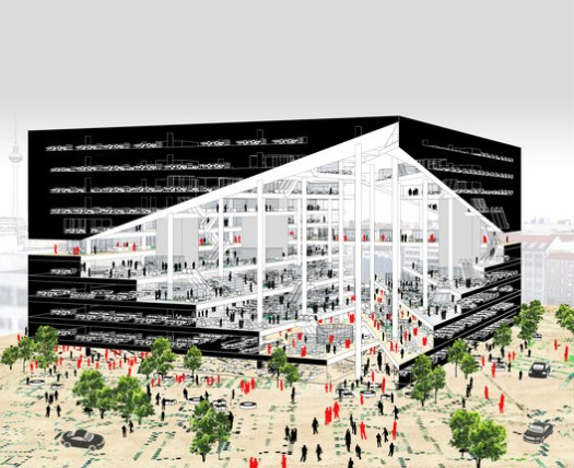 Axel-Springer-Campus, image: courtesy of OMA