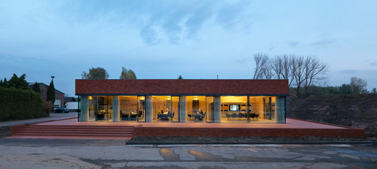 08_2373_BedauxdeBrouwer_Vogelensangh Pavilion Brick Factory Vogelensangh / Bedaux de Brouwer Architects Architecture