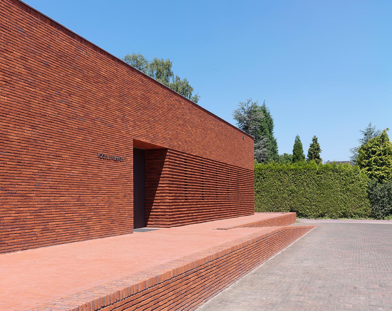 Gallery Of Pavilion Brick Factory Vogelensangh Bedaux De