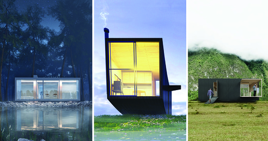 4 Tiny Houses Selected as Winners in the Ryterna modul Architectural