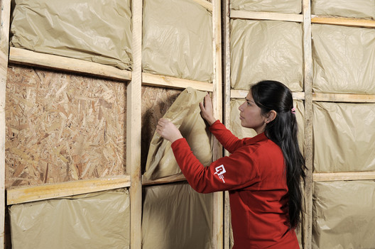 _JLS7530 Eco-Friendly Insulation Offers Thermal Performance, Sound Absorption and Fire Resistance at the Same Time Architecture