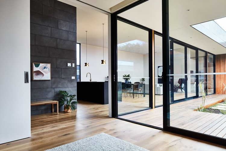 The Courtyard House Auhaus Architecture Archdaily