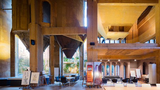 3N0A5897-Pano See Ricardo Bofill's Converted Cement Factory Studio Through The Lens Of Marc Goodwin Architecture