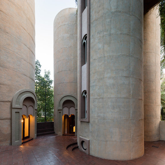 3N0A6059-Pano-2 See Ricardo Bofill's Converted Cement Factory Studio Through The Lens Of Marc Goodwin Architecture