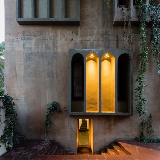 3N0A6066-Pano-2 See Ricardo Bofill's Converted Cement Factory Studio Through The Lens Of Marc Goodwin Architecture