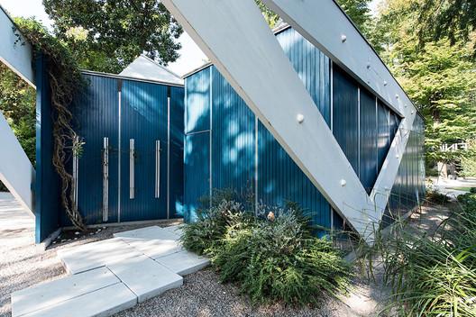 Exterior of the Finnish Pavilion . Image © Ugo Carmeni