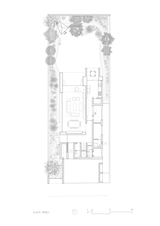 1_-_T%C3%89RREO Pinheiros House / Felipe Hess Arquitetos Architecture