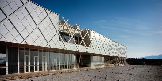Framing_the_Horizon_-_2 Centre for Plasma Physics and Lasers / Sparch Sakellaridou - Papanikolaou Architects Architecture