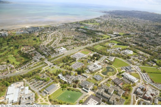 UCD Belfield Core Campus and Surrounding Area - Image courtesy of Barrow Coakley Photography