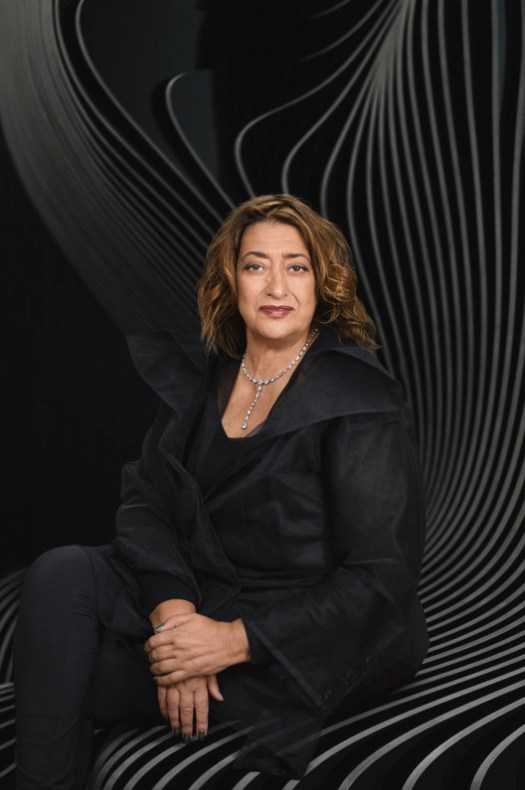 Zaha Hadid, Pritzker 2004. Image © Mary McCartney