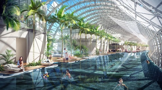 Inside the Conservatory. Image Courtesy of CapitaLand
