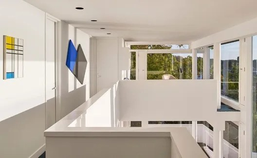 Smith House üst kattan görünüm.   © Mike Schwartz