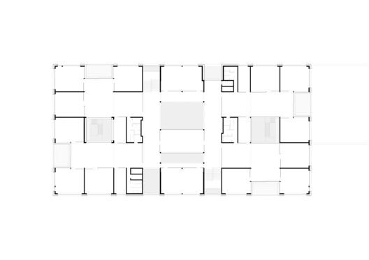 Studio_Ba%CC%88r_Architekt_Matthias_Ba%CC%88r_ZT_Gmbh_Schule_Schendlingen_Bregenz_Grundriss_Obergeschoss_02 Schendlingen School / studio bär + Bernd Riegger + Querformat Architecture