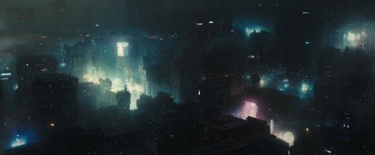 There is not much distinctiveness to the architecture of Los Angeles shown in <em>Blade Runner 2049</em>. Image © 2017 Warner Bros. Entertainment Inc. <a href='http://www.imdb.com/title/tt1856101/mediaindex'>via imdb</a> (used under fair use)
