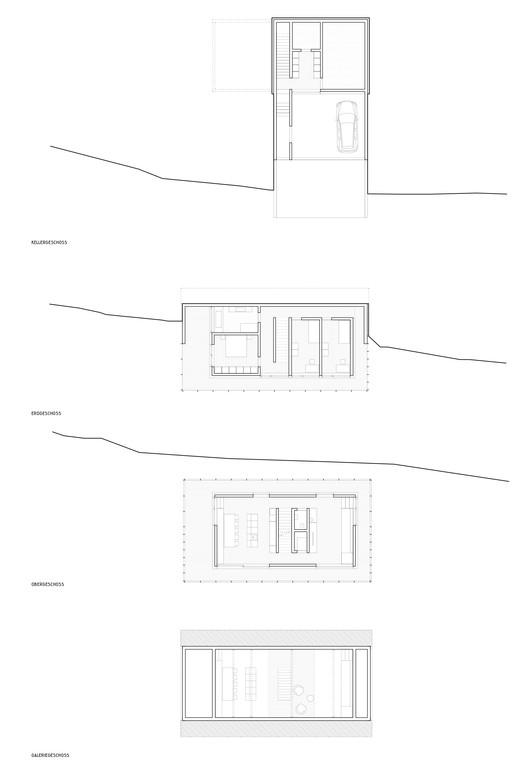 IMA_HOELLER_Grundrisse_200 Höller House / Innauer-Matt Architekten Architecture