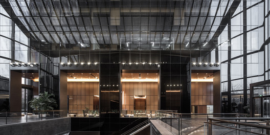 8 Chaoyang Park Plaza - Office Public Area Interiors / Supercloud Studio + MADA s.p.a.m. Architecture