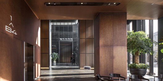 15 Chaoyang Park Plaza - Office Public Area Interiors / Supercloud Studio + MADA s.p.a.m. Architecture
