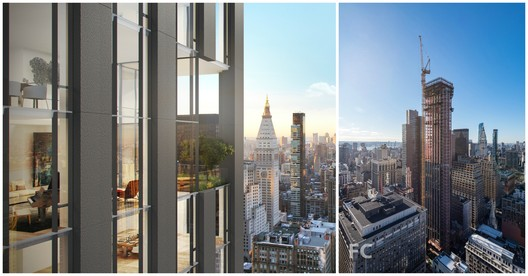 Left image courtesy of Rafael Viñoly Architects. Left image via Field Condition