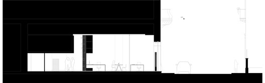 20_section_1 Meridionale Fondiaria Real Estate HQ / Tomas Ghisellini Architects Architecture