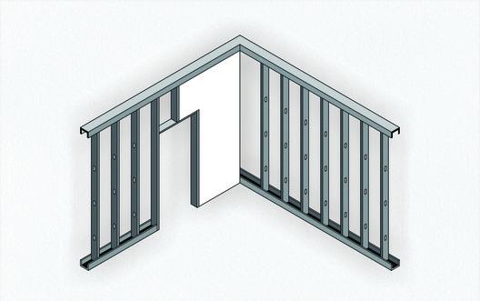 Steel Frame. Image © Matheus Pereira